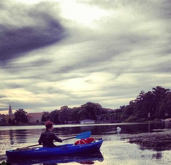Kayaking in Winter Park FL
